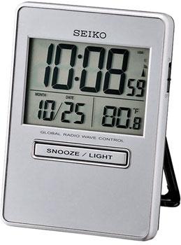 Seiko Будильник Seiko QHR023SN. Коллекция Интерьерные часы seiko будильник seiko qhl057wn коллекция интерьерные часы