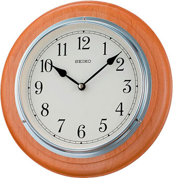 Seiko Настенные часы Seiko QXA144SN-Z. Коллекция Настенные часы seiko настенные часы seiko qxa494bn z коллекция настенные часы