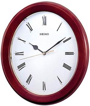 Seiko Настенные часы Seiko QXA147BN-Z. Коллекция Настенные часы 3d настенные часы безрамные современные зеркальные металлы большие настенные наклейки часы настенные часы room home decorations