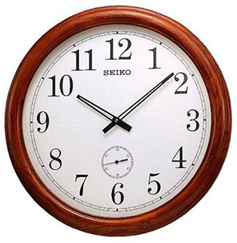 Seiko Настенные часы  Seiko QXA155B. Коллекция Настенные часы seiko qxa603w