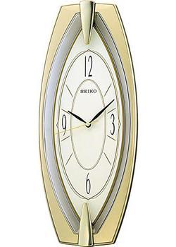 Seiko Настенные часы Seiko QXA342G. Коллекция Интерьерные часы часы настенные mauricio relli oro selvaggia цвет черный белый золотистый рм 013