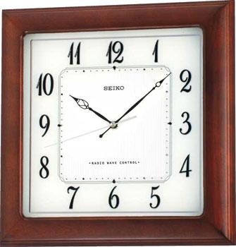 Seiko Настенные часы  Seiko QXA390BN. Коллекция Интерьерные часы seiko часы seiko sxb430p1 коллекция premier