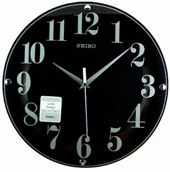 Seiko Настенные часы  Seiko QXA445KN. Коллекция Интерьерные часы seiko настенные часы seiko qxd211fn коллекция интерьерные часы