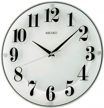Seiko Настенные часы Seiko QXA445WN-Z. Коллекция Настенные часы настенные часы огого обстановочка 40x40 см family time 312820