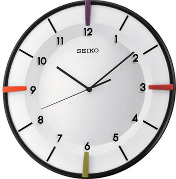 Seiko Настенные часы Seiko QXA468K. Коллекция Интерьерные часы seiko будильник seiko qhl057wn коллекция интерьерные часы