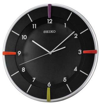 Seiko Настенные часы  Seiko QXA468S. Коллекция Интерьерные часы seiko часы seiko srpa17j1 коллекция premier