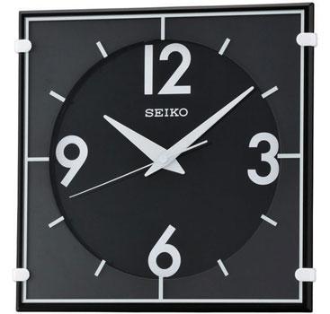 Seiko Настенные часы Seiko QXA475J. Коллекция Интерьерные часы seiko будильник seiko qhl057wn коллекция интерьерные часы