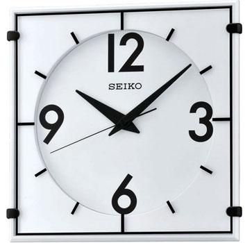 Seiko Настенные часы Seiko QXA475W. Коллекция Интерьерные часы seiko будильник seiko qhl057wn коллекция интерьерные часы