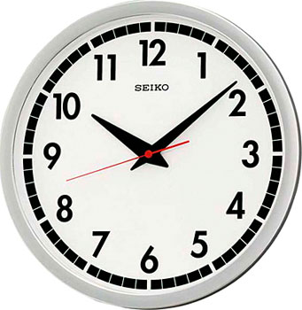 Seiko Настенные часы  Seiko QXA476S. Коллекция Интерьерные часы seiko часы seiko srpa17j1 коллекция premier