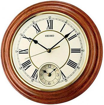 Seiko Настенные часы Seiko QXA494BN-Z. Коллекция Настенные часы seiko настенные часы seiko qxa564sn z коллекция настенные часы