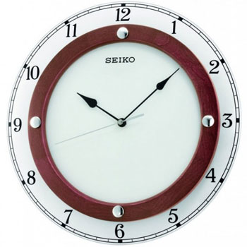 Seiko Настенные часы  Seiko QXA509BN. Коллекция Интерьерные часы seiko часы seiko sxb430p1 коллекция premier