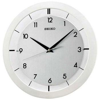 Seiko Настенные часы Seiko QXA520WN. Коллекция Интерьерные часы seiko будильник seiko qhl057wn коллекция интерьерные часы