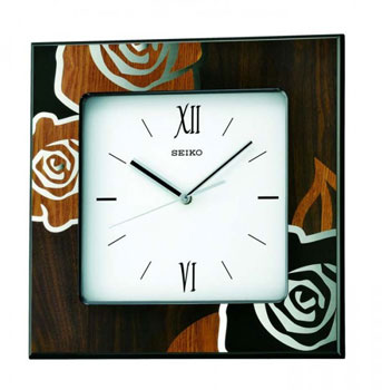Seiko Настенные часы  Seiko QXA534BN. Коллекция Интерьерные часы seiko часы seiko sxb430p1 коллекция premier
