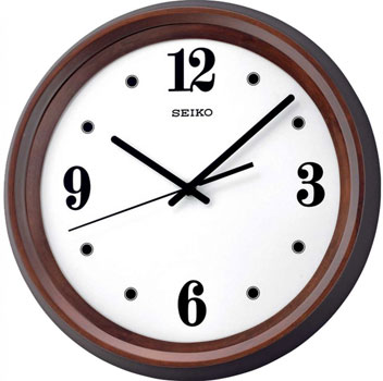 Seiko Настенные часы  Seiko QXA540B. Коллекция Интерьерные часы seiko часы seiko srpa17j1 коллекция premier