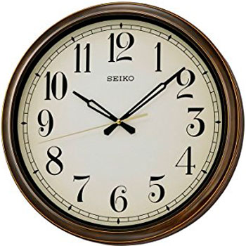 Seiko Настенные часы Seiko QXA548BN. Коллекция Настенные часы