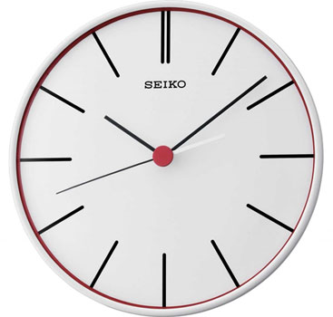 Seiko Настенные часы Seiko QXA551W. Коллекция Интерьерные часы seiko настенные часы seiko qxc230sn коллекция интерьерные часы