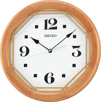 Seiko Настенные часы  Seiko QXA565ZL. Коллекция Интерьерные часы seiko часы seiko srpa17j1 коллекция premier