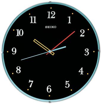 Seiko Настенные часы  Seiko QXA568K. Коллекция Интерьерные часы sbart 3mm neoprene long sleeve winter swimming wetsuit men shirt rash guard diving surfing jersey shirts tops swimsuit tops