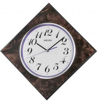 Seiko Настенные часы  Seiko QXA586BN. Коллекция Интерьерные часы seiko часы seiko srpa17j1 коллекция premier