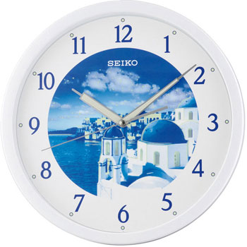 Seiko Настенные часы Seiko QXA595HN. Коллекция Интерьерные часы seiko qxa603w