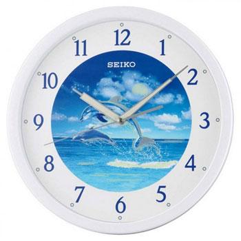 Seiko Настенные часы Seiko QXA595WN. Коллекция Интерьерные часы seiko будильник seiko qhl057wn коллекция интерьерные часы