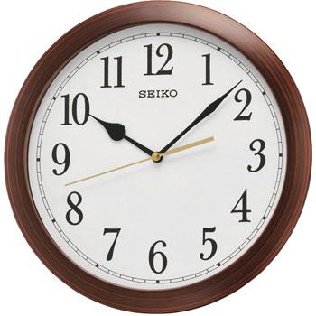 Seiko Настенные часы  Seiko QXA597BN. Коллекция Интерьерные часы seiko часы seiko srpa17j1 коллекция premier