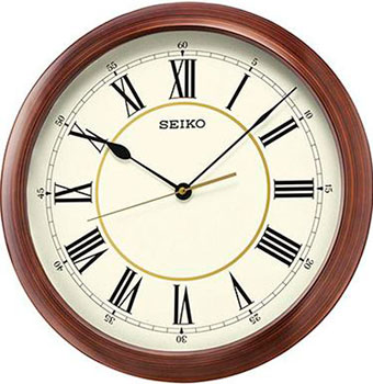 Seiko Настенные часы Seiko QXA598A. Коллекция Настенные часы часы seiko srp265