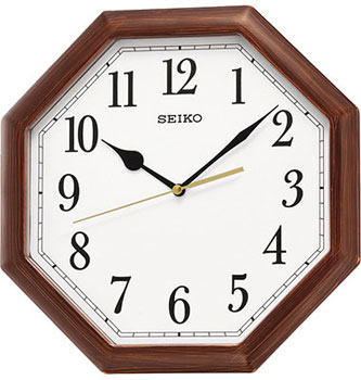 Seiko Настенные часы  Seiko QXA599BN. Коллекция Интерьерные часы seiko часы seiko srpa17j1 коллекция premier