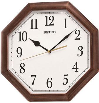 Seiko Настенные часы  Seiko QXA600BN. Коллекция Интерьерные часы seiko настенные часы seiko qxd211fn коллекция интерьерные часы