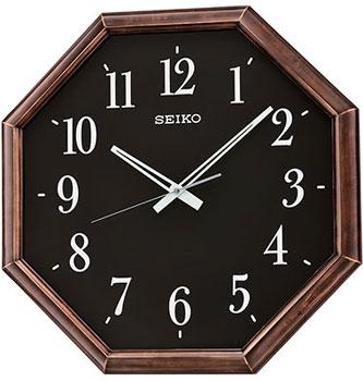 Seiko Настенные часы  Seiko QXA600ZN. Коллекция Интерьерные часы seiko настенные часы seiko qxd211fn коллекция интерьерные часы