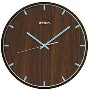 Seiko Настенные часы Seiko QXA617MN. Коллекция Интерьерные часы seiko настенные часы seiko qxa656kn коллекция настенные часы