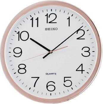 Seiko Настенные часы Seiko QXA620PN. Коллекция Интерьерные часы seiko будильник seiko qhl057wn коллекция интерьерные часы