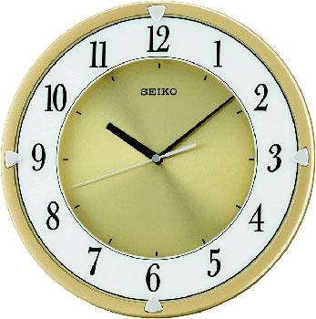 Seiko Настенные часы Seiko QXA621G. Коллекция Интерьерные часы 1 5 lcd digital wind speed meter anemometer yellow black