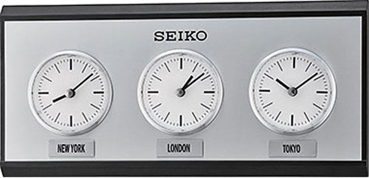Seiko Настенные часы  Seiko QXA623K. Коллекция Интерьерные часы seiko часы seiko sxb430p1 коллекция premier