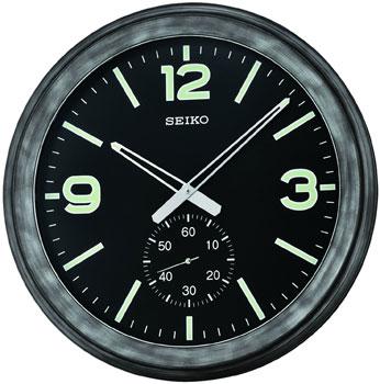 Seiko Настенные часы  Seiko QXA627K. Коллекция Интерьерные часы seiko часы seiko sxb430p1 коллекция premier
