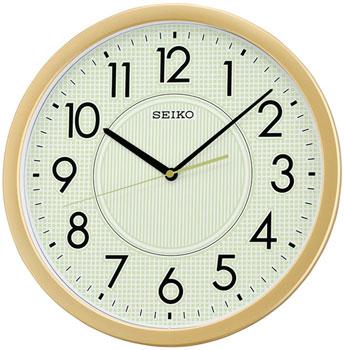 Seiko Настенные часы Seiko QXA629G. Коллекция Интерьерные часы часы настенные mauricio relli oro selvaggia цвет черный белый золотистый рм 013