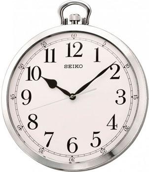 Seiko Настенные часы  Seiko QXA633S. Коллекция Настенные часы seiko настенные часы seiko qxa660w коллекция настенные часы
