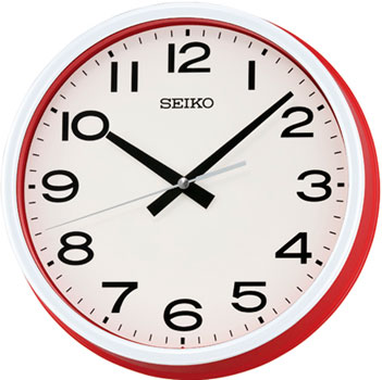 Seiko Настенные часы Seiko QXA645R. Коллекция Настенные часы часы настенные t weid катрин диаметр 53 см