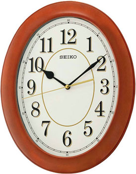 Seiko Настенные часы  Seiko QXA664B. Коллекция Настенные часы seiko часы seiko sxb430p1 коллекция premier