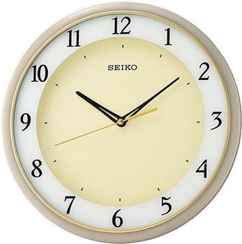 Seiko Настенные часы Seiko QXA683JN. Коллекция Настенные часы 3d настенные часы безрамные современные зеркальные металлы большие настенные наклейки часы настенные часы room home decorations