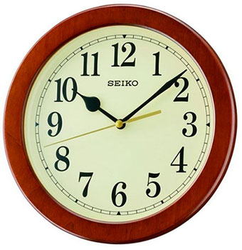 Seiko Настенные часы Seiko QXA686ZN. Коллекция Настенные часы сетевое зарядное устройство samsung ep ta12ebeugru usb microusb 2 0 2a черный
