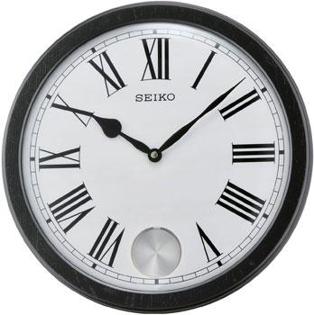 Seiko Настенные часы  Seiko QXC233KN. Коллекция Интерьерные часы seiko часы seiko sxb430p1 коллекция premier
