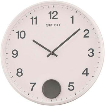 Seiko Настенные часы Seiko QXC235WN. Коллекция Настенные часы настенные часы seiko 445 13