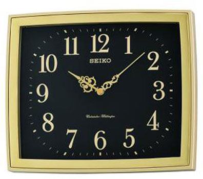 Seiko Настенные часы Seiko QXD211FN. Коллекция Интерьерные часы seiko будильник seiko qhl057wn коллекция интерьерные часы