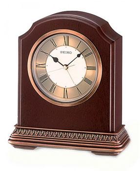 Seiko Настольные часы Seiko QXE018BN. Коллекция Интерьерные часы seiko настольные часы seiko qxq008bn коллекция настольные часы