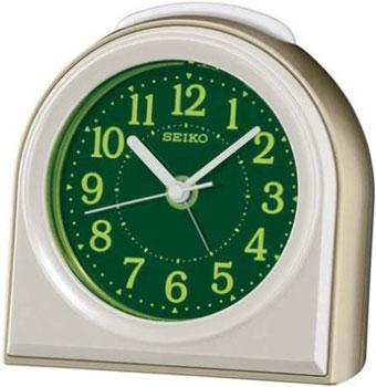 Seiko Настольные часы Seiko QXE038G. Коллекция Интерьерные часы часы настольные magic home самолет кварцевые цвет коричневый