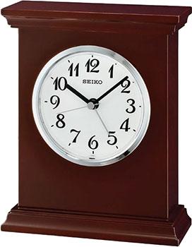 Seiko Настольные часы  Seiko QXE053BN. Коллекция Настольные часы seiko настольные часы seiko qhg038gn z коллекция настольные часы