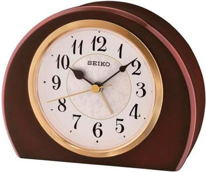 Seiko Настольные часы  Seiko QXE054BN. Коллекция Настольные часы seiko настольные часы seiko qhg038gn z коллекция настольные часы
