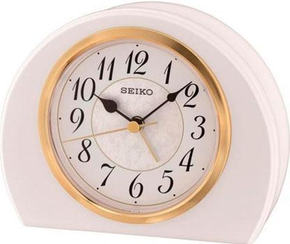 Seiko Настольные часы Seiko QXE054WN. Коллекция Настольные часы часы настольные magic home самолет кварцевые цвет коричневый