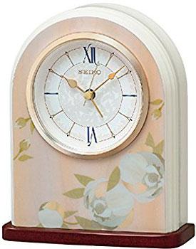 Seiko Настольные часы Seiko QXE055PN. Коллекция Настольные часы seiko sndg61p1
